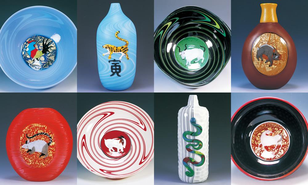 マッシモ・ノルディオ イタリア人から見た、日本の十二支を色鮮やかに表現